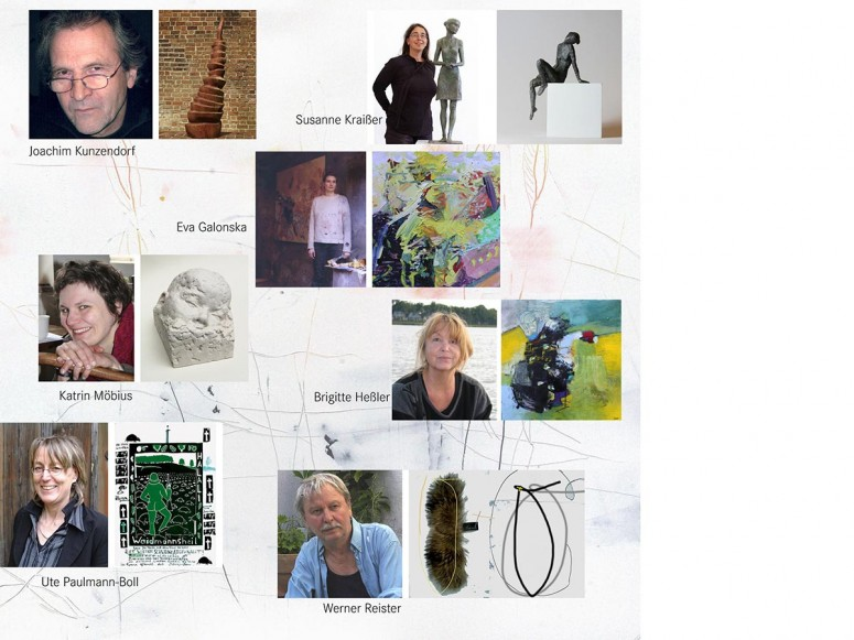 Die Künstler des Kunstvereins Hoher Fläming