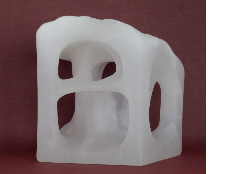 Organica 2 - 2015 - Alabaster - 14x11x12 cm