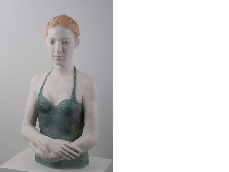 Richarda - 2015 - Terrakotta, frei aufgebaut - Höhe 85 cm