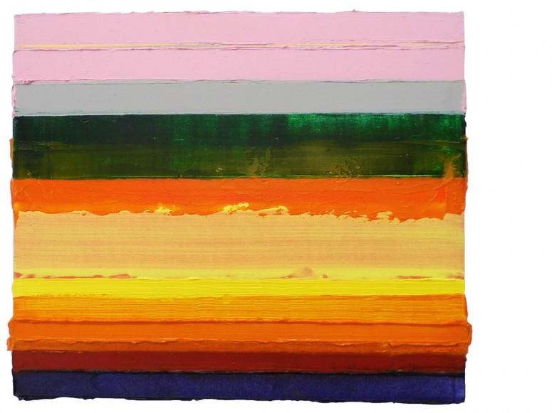 ohne titel - 2011/12 - öl+alkydharz auf tuch auf hartfaser - 30x35 cm