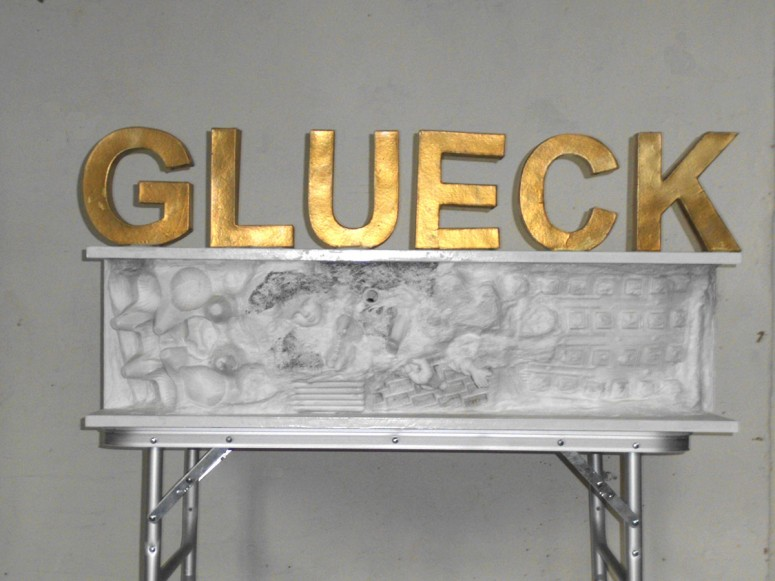 GLUECK - 2013 - Assemblage - 96x20x45 cm