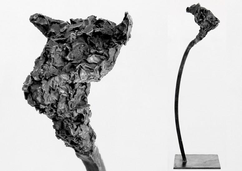 Mikos Meininger - Toro - 2015 - Bronze - Aufl. 25 - 43x12x12 cm