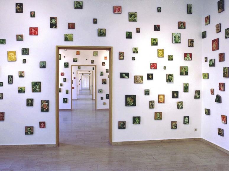 Tausend Deutsche Portraits - 1994 - 2014 - Öl auf Holz/Bleirahmen